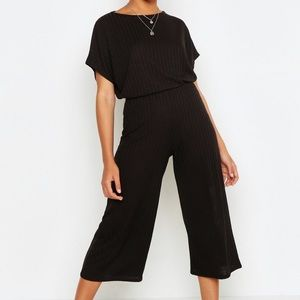 Rib Slouchy Top & Culotte Co-Ord